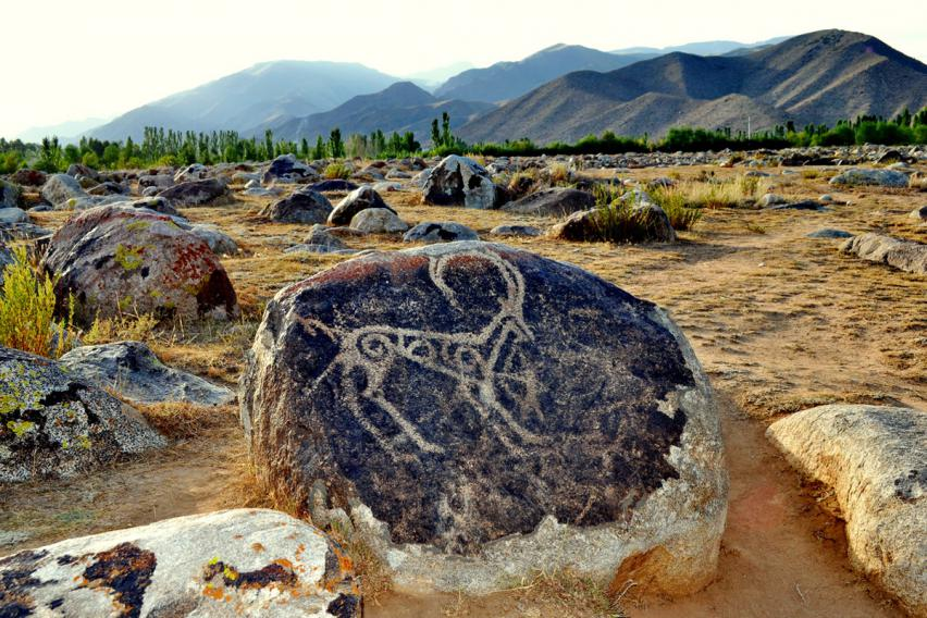 Petroglyphs of Cholpon-Ata