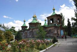 Russian church at Karakol city