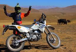 Motorcycle tour in Kyrgyzstan