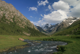 In Karakol Valley