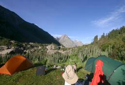 Tents In Karakol Valley